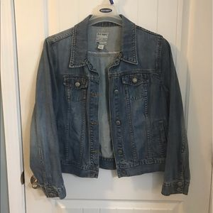 EUC Old Navy Blue Jean Jacket Size XL